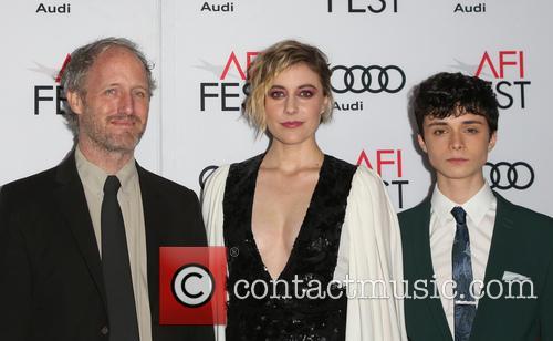 Mike Mills, Greta Gerwig and Lucas Jade Zumann 10