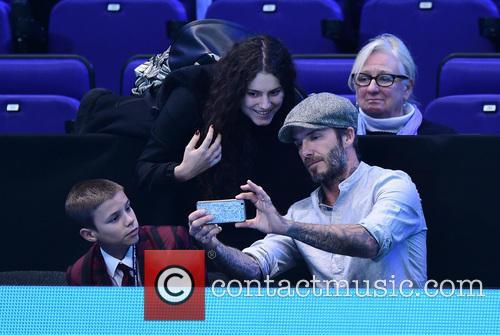 David Beckham and Romeo Beckham 7