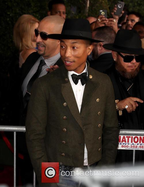 Pharrell at the Latin Grammy Awards