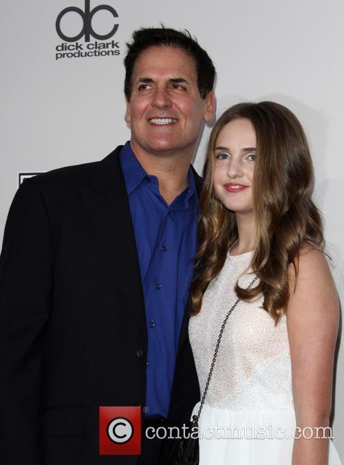 Mark Cuban and Alexis Sofia Cuban