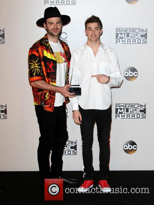 American Music Awards 2016 Press Room