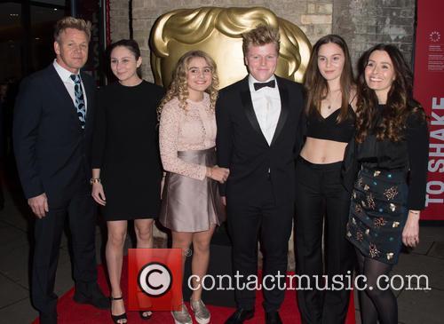 Gordon Ramsay, Megan Ramsay, Matilda Ramsay, Jack Ramsay, Holly Ramsay and Tana Ramsay 1