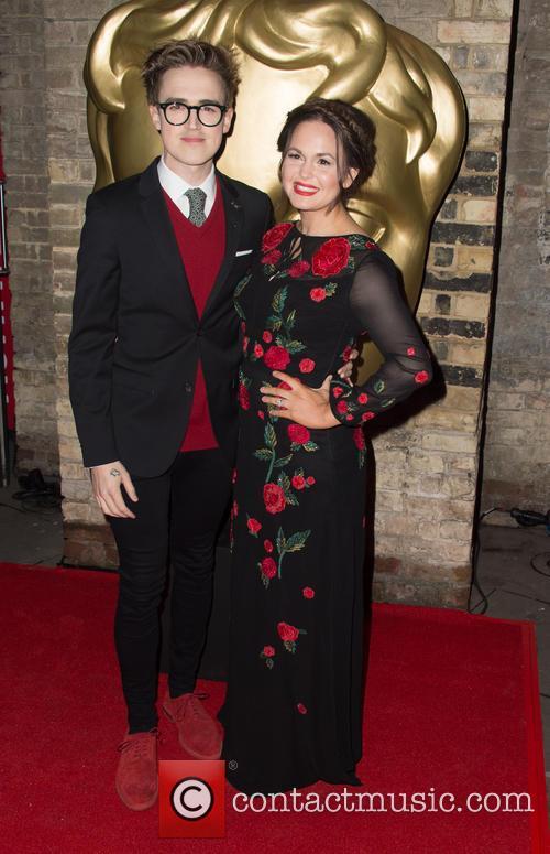 Tom Fletcher and Giovanna Fletcher 1