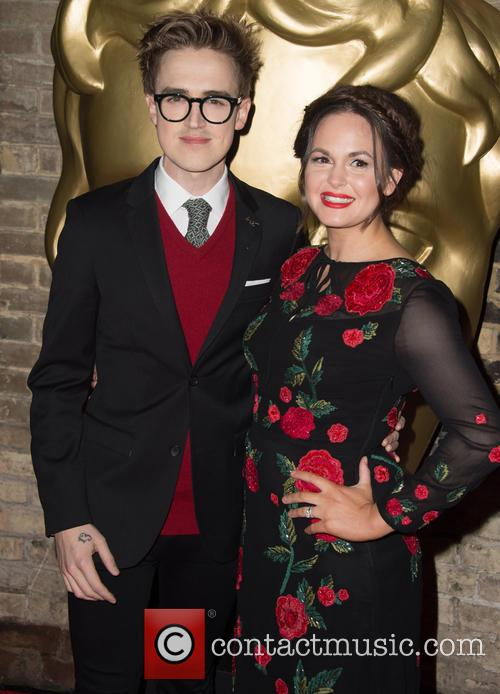 Tom Fletcher and Giovanna Fletcher