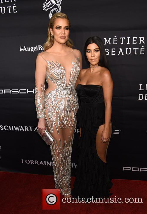 Khloe Kardashian and Kourtney Kardashian 10