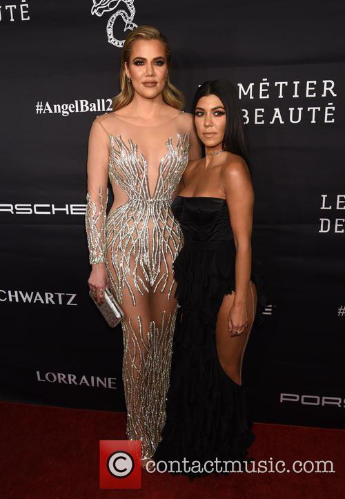 Khloe Kardashian and Kourtney Kardashian 11