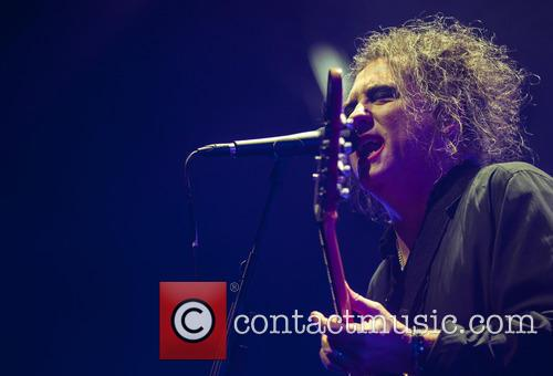 The Cure perform live