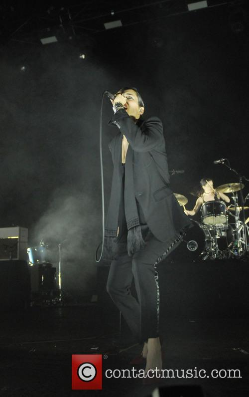 Savages perform at The Brixton Academy