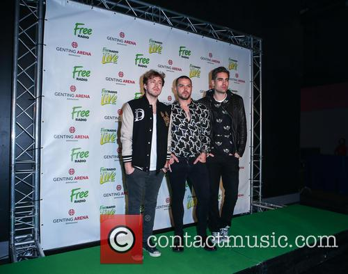 Busted, Matt Willis, James Bourne and Charlie Simpson 2