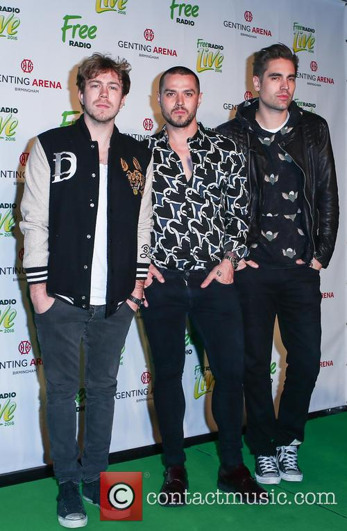 Busted, Matt Willis, James Bourne and Charlie Simpson 3