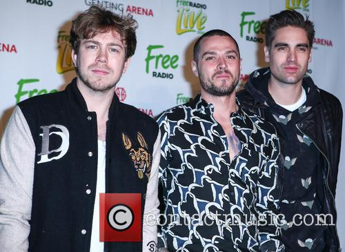Busted, Matt Willis, James Bourne and Charlie Simpson 4