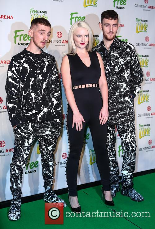 Clean Bandit, Grace Chatto, Jack Patterson and Luke Patterson 5
