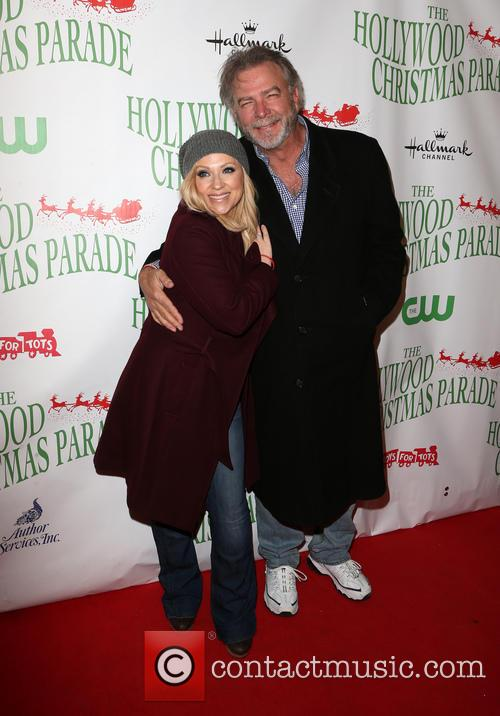 Leigh-allyn Baker and Bill Engvall