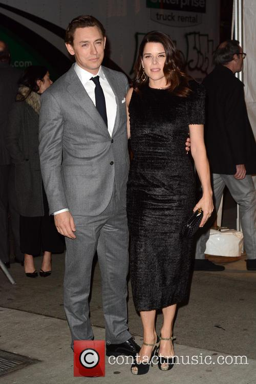 Jj Feild and Neve Campbell 3