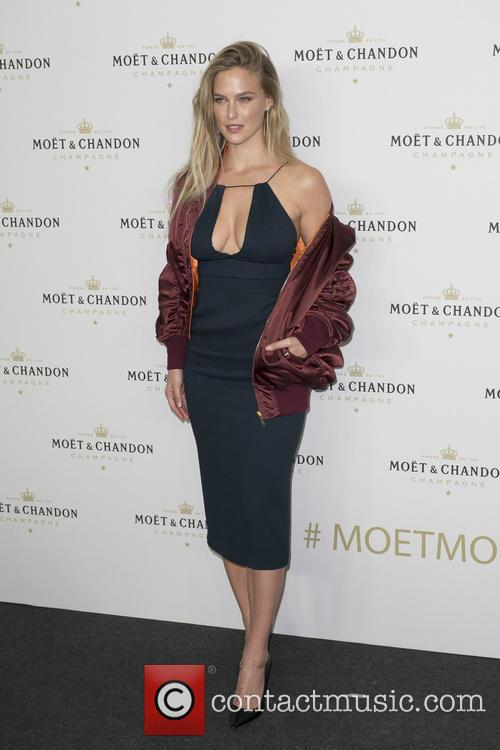 Bar Refaeli attends the Moet & Chandon party