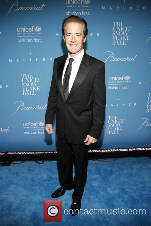 Kyle MacLachlan pictured at the UNICEF Snowflake Ball