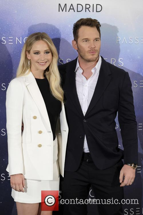 Jennifer Lawrence and Chris Pratt