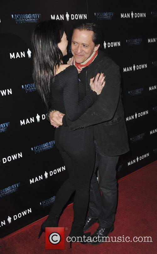 Francesca Eastwood and Clifton Collins Jr. 2