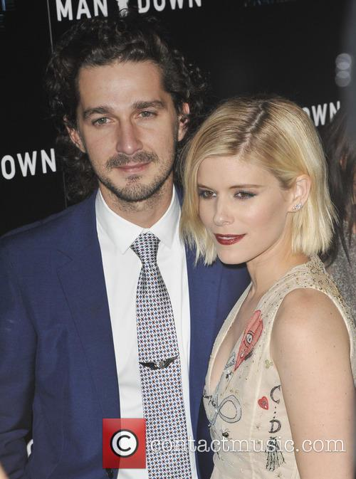 Shia Labeouf and Kate Mara 2