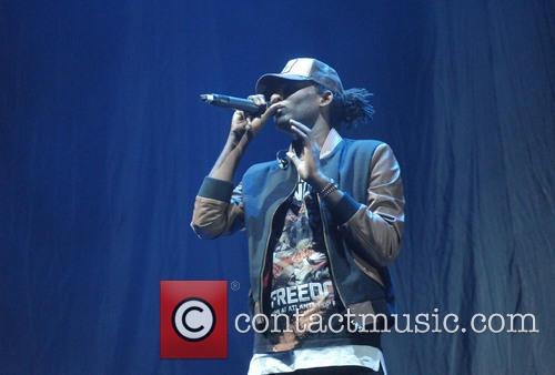 Wretch 32 performs at the 02 Arena
