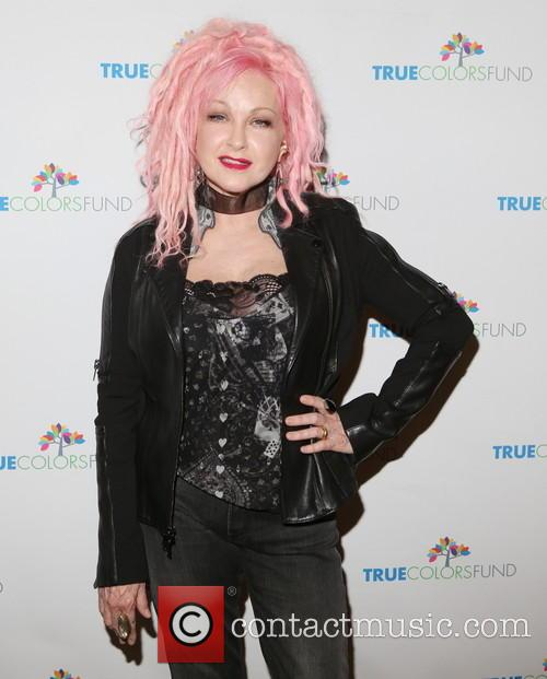Cyndi Lauper at True Colors Benefit
