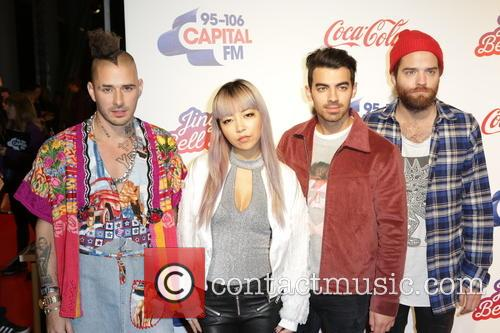 Dnce, Cole White, Jinjoo Lee, Joe Jonas and Jack Lawless