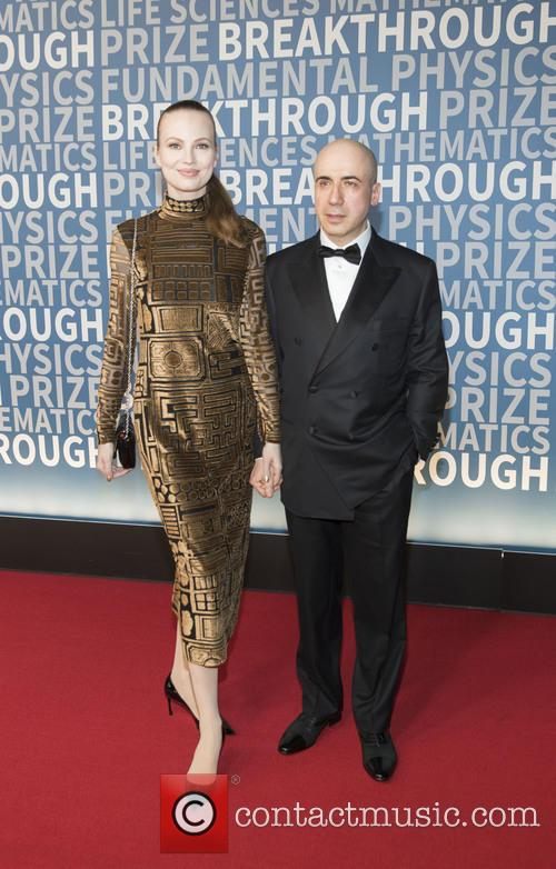 Julia Milner and Yuri Milner 1