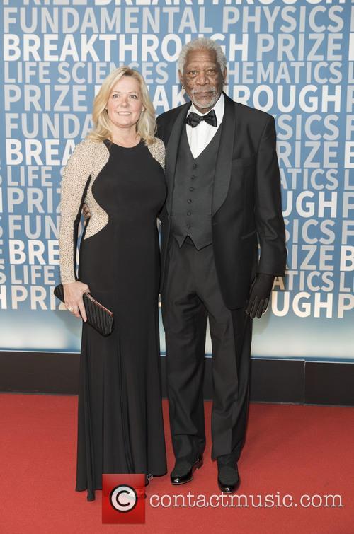 Linda Keena and Morgan Freeman