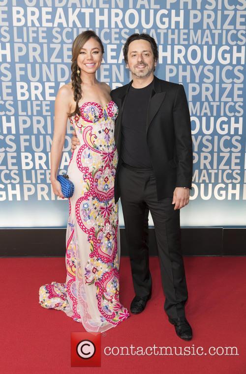 Nicole Shanahan and Sergey Brin 1