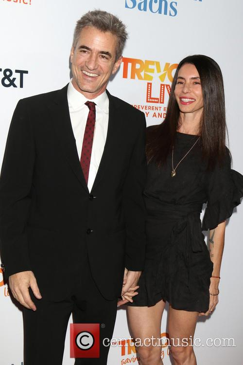 Dermot Mulroney and Tharita Cesaroni