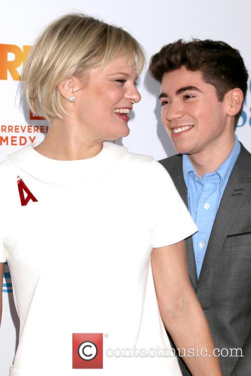 Martha Plimpton and Noah Galvin 1