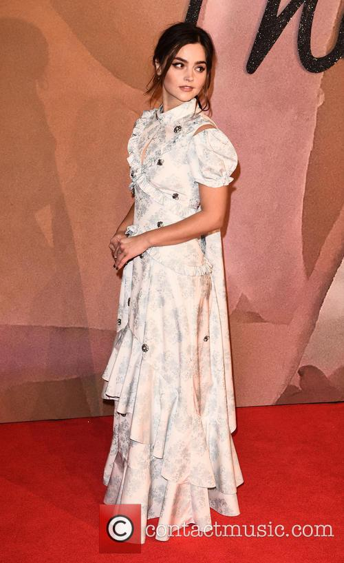 Jenna Coleman at The Fashion Awards