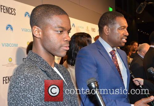 Jovan Adepo and Mykelti Williamson 2