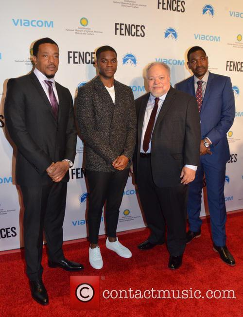Russell Hornsby, Jovan Adepo, Stephen Mckinely Henderson and Mykelti Williamson