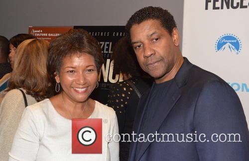 Dede Lea and Denzel Washington 1