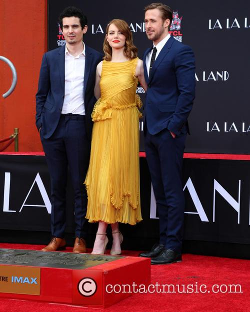 Damien Chazelle, Emma Stone and Ryan Gosling 1