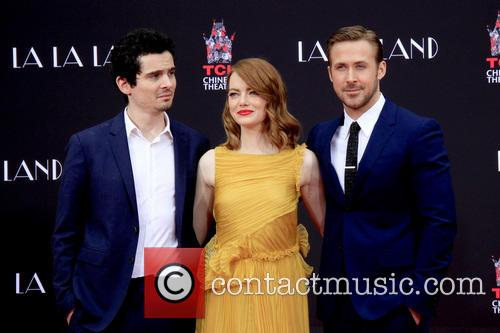 Damien Chazelle, Emma Stone and Ryan Gosling 2