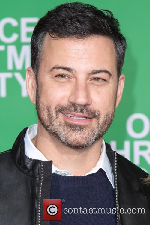 Jimmy Kimmel at 'Office Christmas Party' premiere