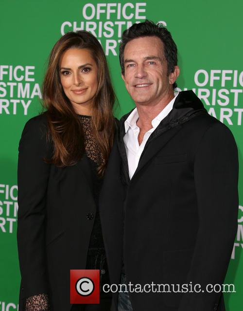 Jeff Probst and Lisa Ann Russell 2