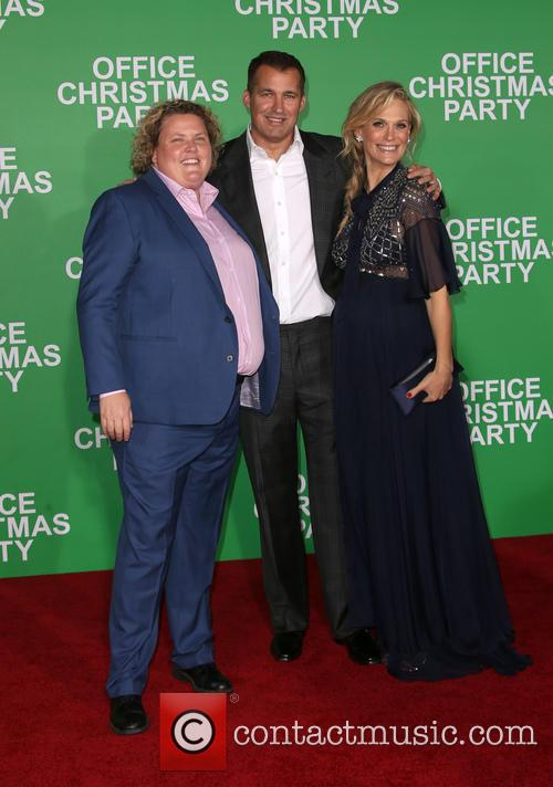 Fortune Feimster, Scott Stuber and Molly Sims 2