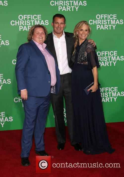 Fortune Feimster, Scott Stuber and Molly Sims 3