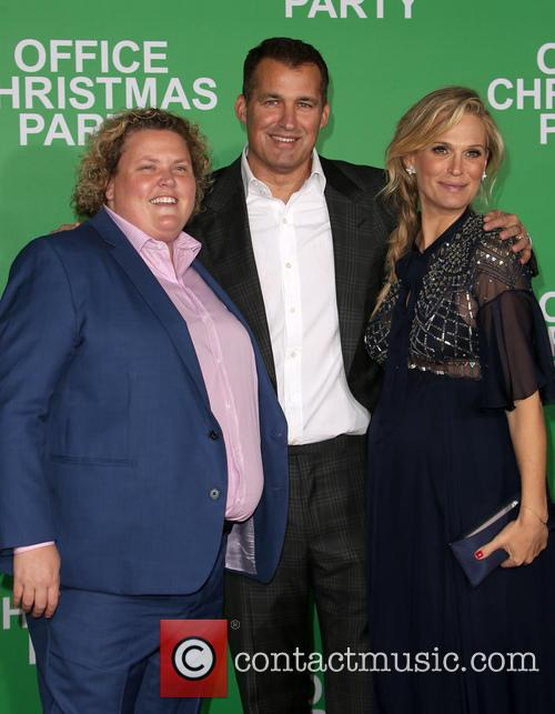 Fortune Feimster, Scott Stuber and Molly Sims 4