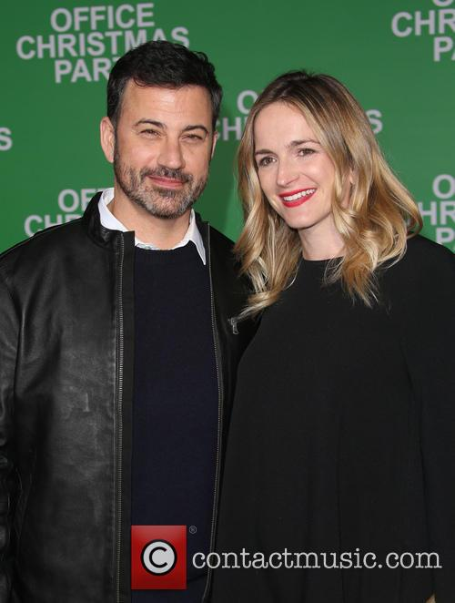 Jimmy Kimmel and Molly Mcnearney 8