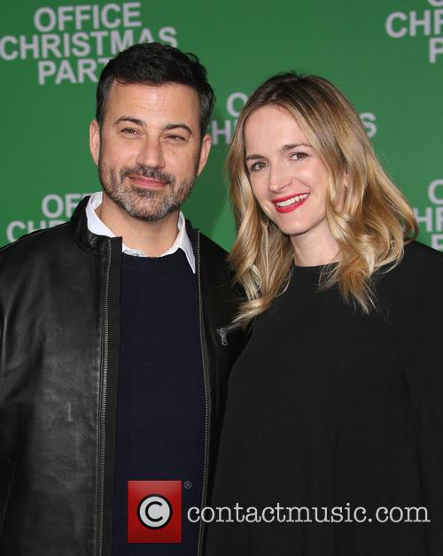 Jimmy Kimmel and Molly Mcnearney 9