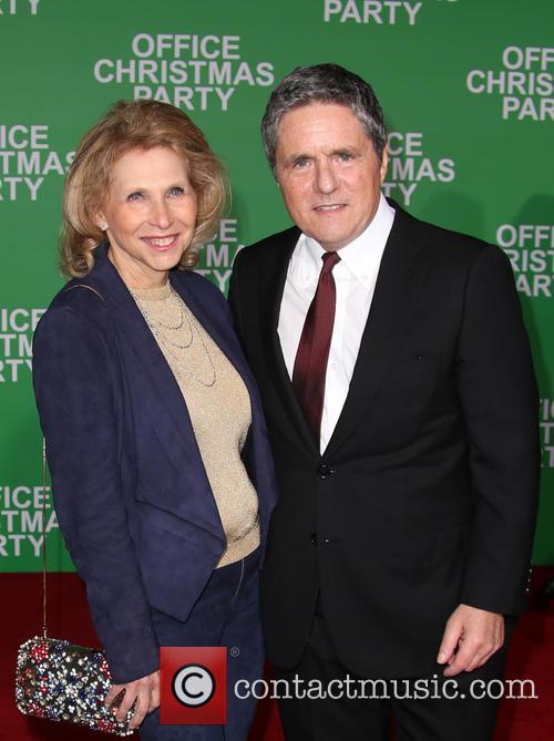 Brad Grey and Shari Redstone