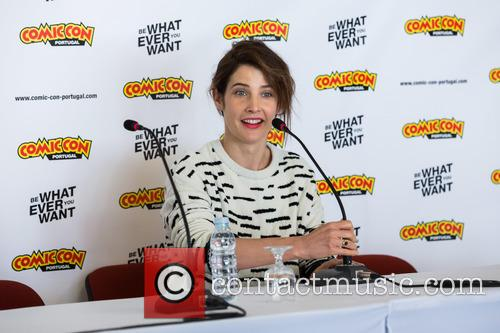 Cobie Smulders at Comic Con Portugal 2016