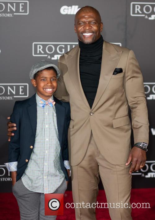 Terry Crews and Son