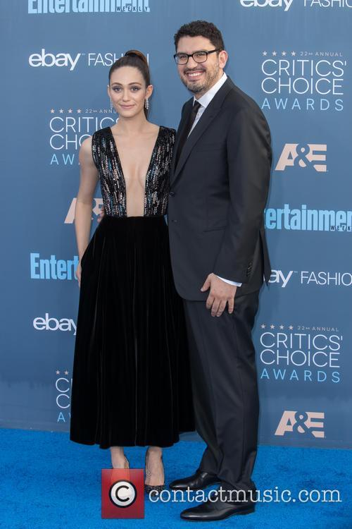 Emmy Rossum and Sam Esmail 5