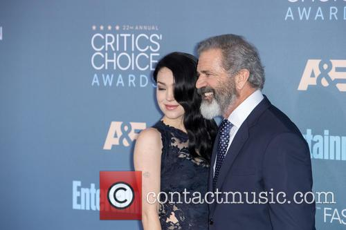 Mel Gibson and Rosalind Ross 2