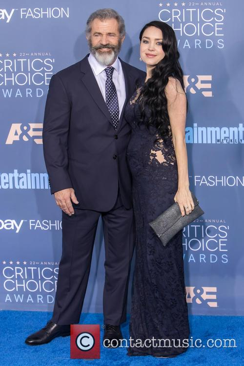 Mel Gibson and Rosalind Ross 4